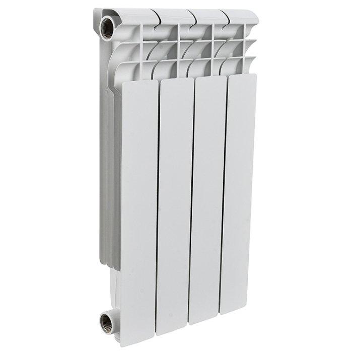 Радиатор биметалич. ROMMER Optima BM 500-4секц.