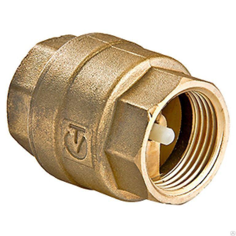 Клапан обратный 1/2″ ВР-ВР (латунный золотник)