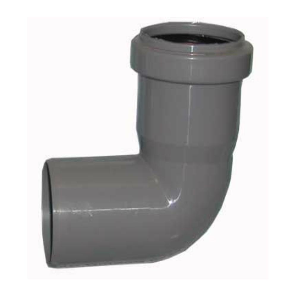 Отвод канализационный 50х87,5°