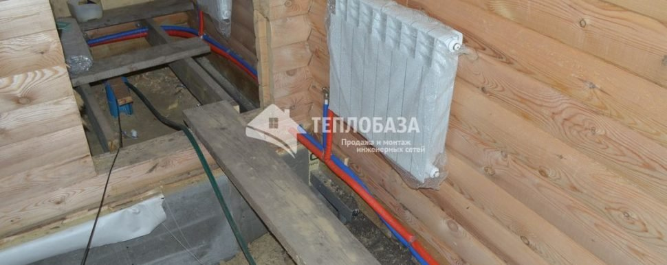 радиатор и трубы