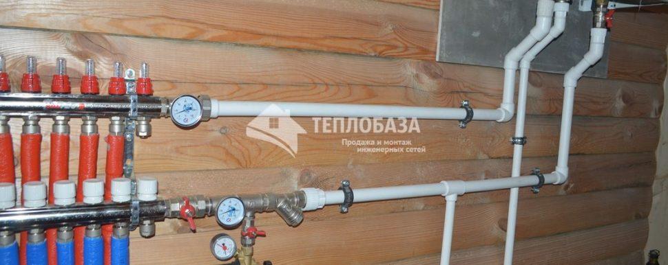 Установка газового котла