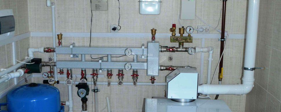 газовый котел с турбонасадкой