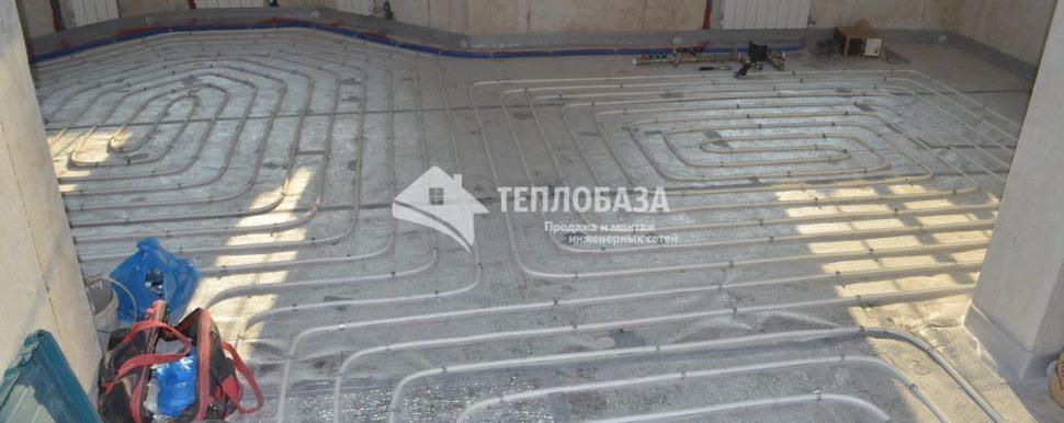 Теплый пол и радиаторы отопления