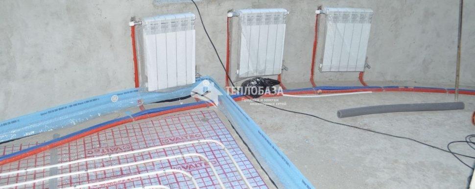 Монтаж водяного отопления в доме