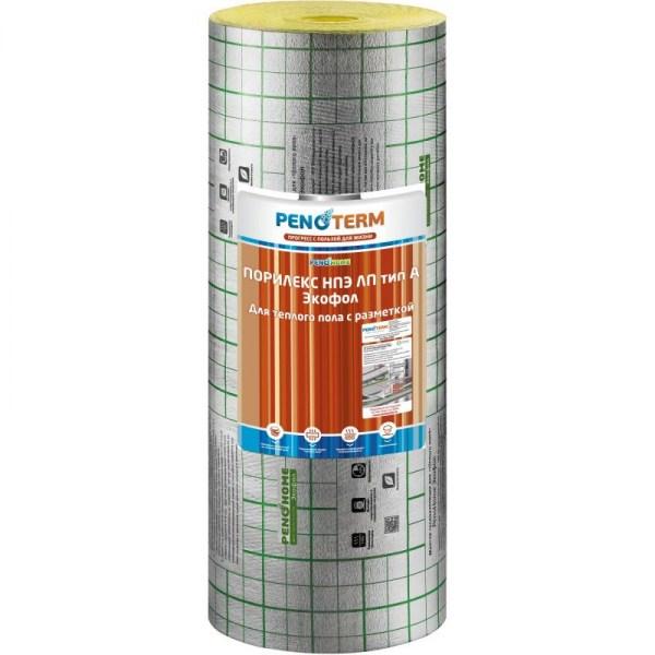 Экофол (Порилекс) НПЭ-ЛП А 5мм./1,2х25м. желтый