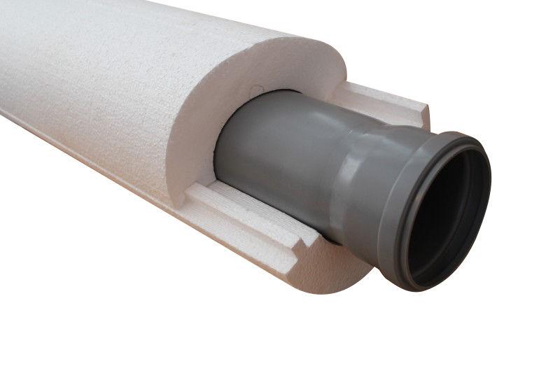 Скорлупа ППС114 х 50 мм / L = 2,0 м; пенополистирол /