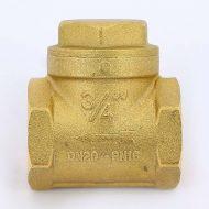 Клапан обратный 3/4″ ВР-ВР (латунный золотник)