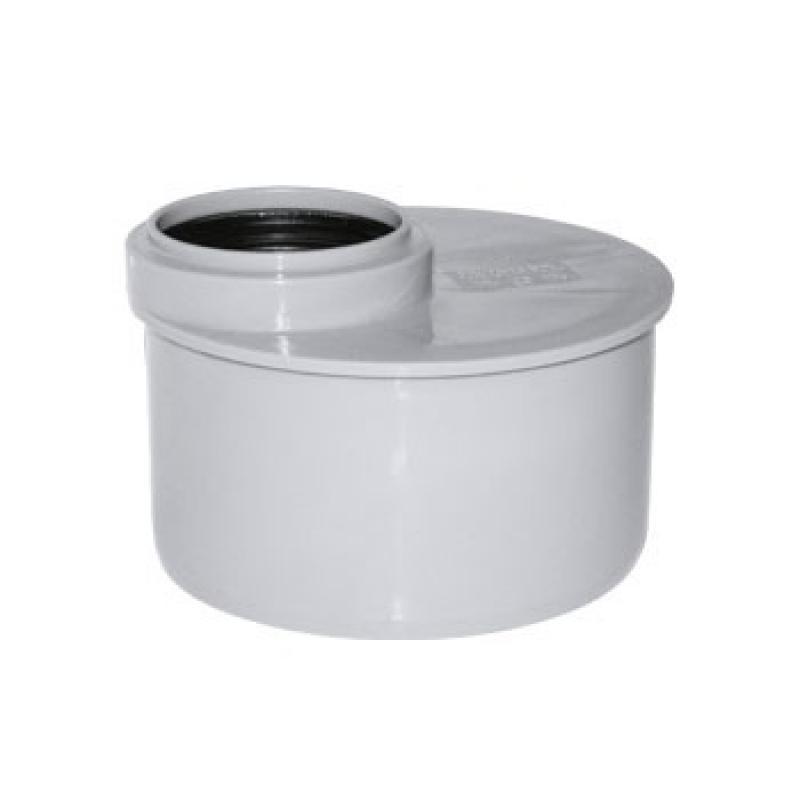 Переход канализационный эксцентрический короткий 110х50
