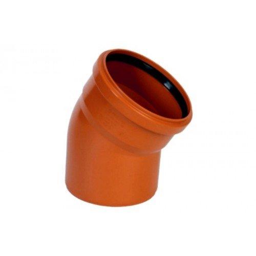 Отвод наружный канализационный 110 15°
