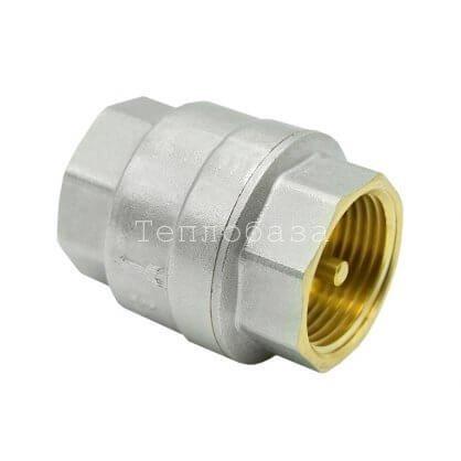 Клапан обратный 1″ ВР-ВР (латунный золотник) - фото