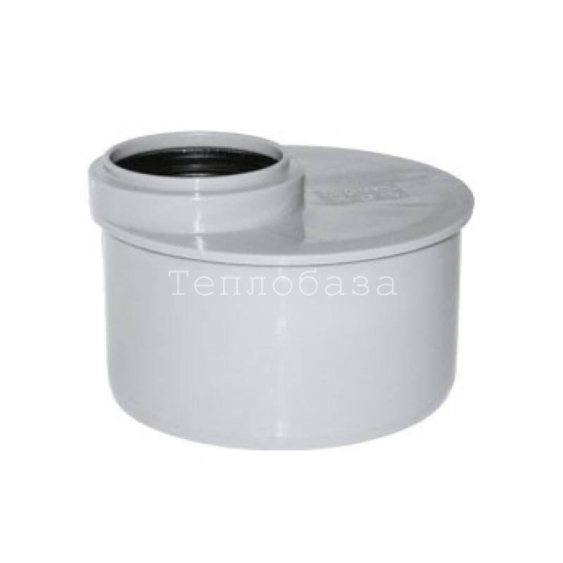 Переход канализационный эксцентрический короткий 110х50 - фото