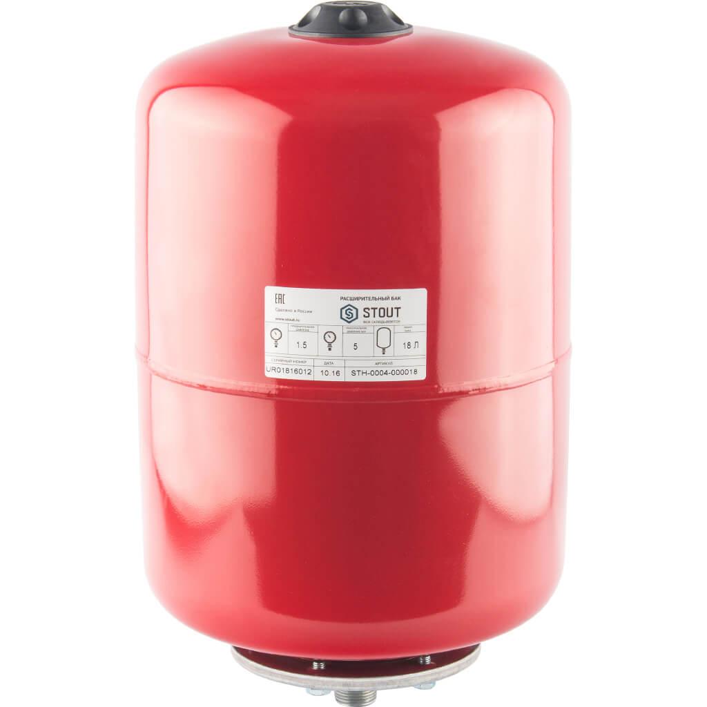 Бак мембранный для отопления 18 литров