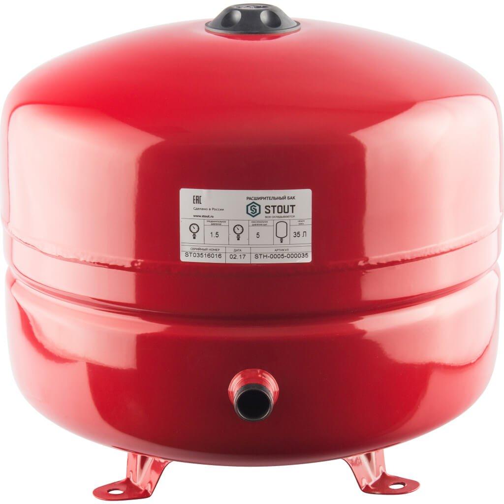 Бак мембранный для отопления 35 литров