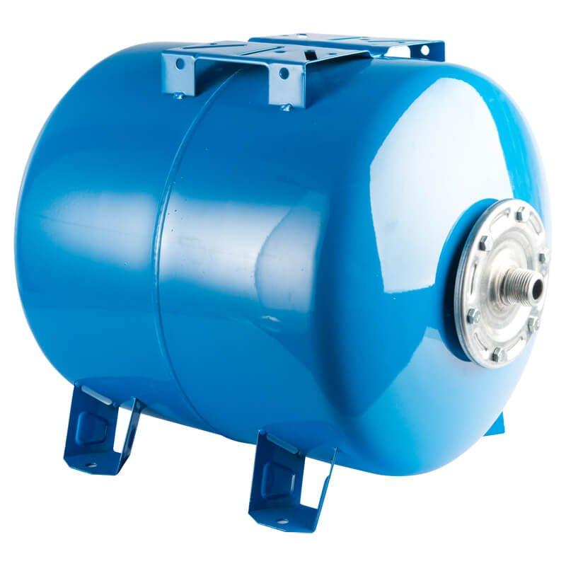 Гидропневмобак 50 литров горизонтальный