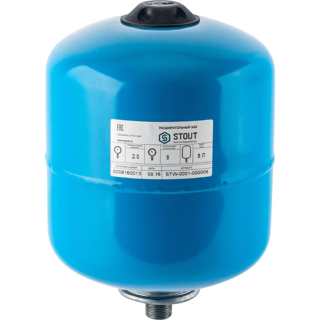 Гидропневмобак 8 литров
