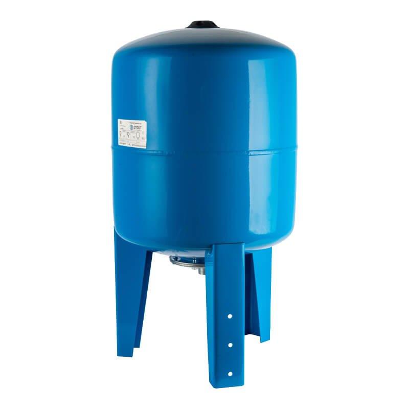 Гидропневмобак 80 литров вертикальный - фото