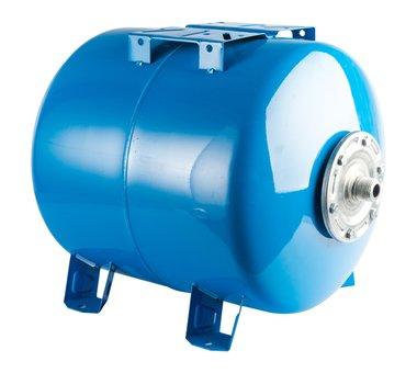 Гидропневмобак 100 литров горизонтальный - фото