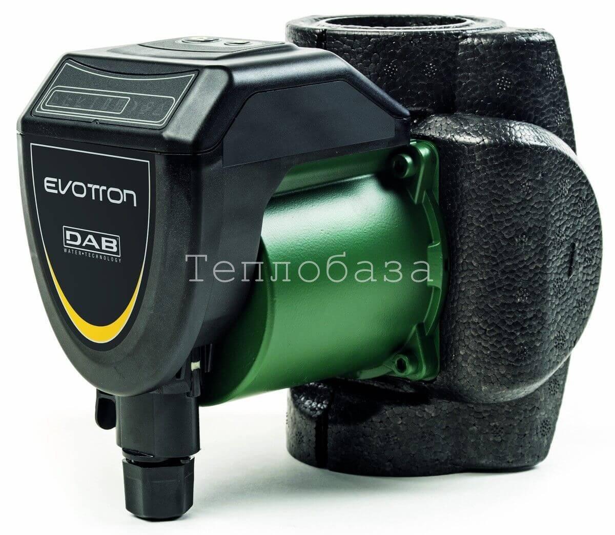 Циркуляционный насос с мокрым ротором для систем отопления с частотным регулятором DAB Evotron 60/180 - фото