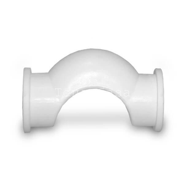 Полипропиленовое обводное колено раструбное 32 - фото