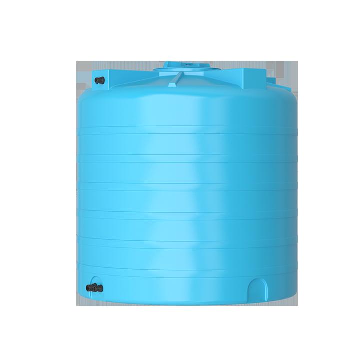 Бак для воды синий ATV 1500 с поплавком - фото