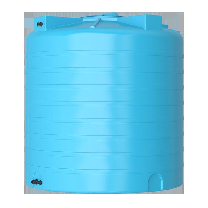Бак для воды синий ATV 2000 с поплавком