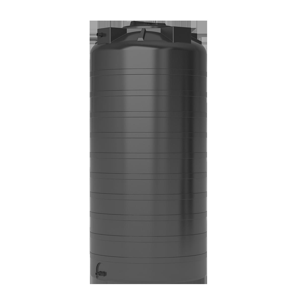 Бак для воды черный ATV 750 с поплавком - фото