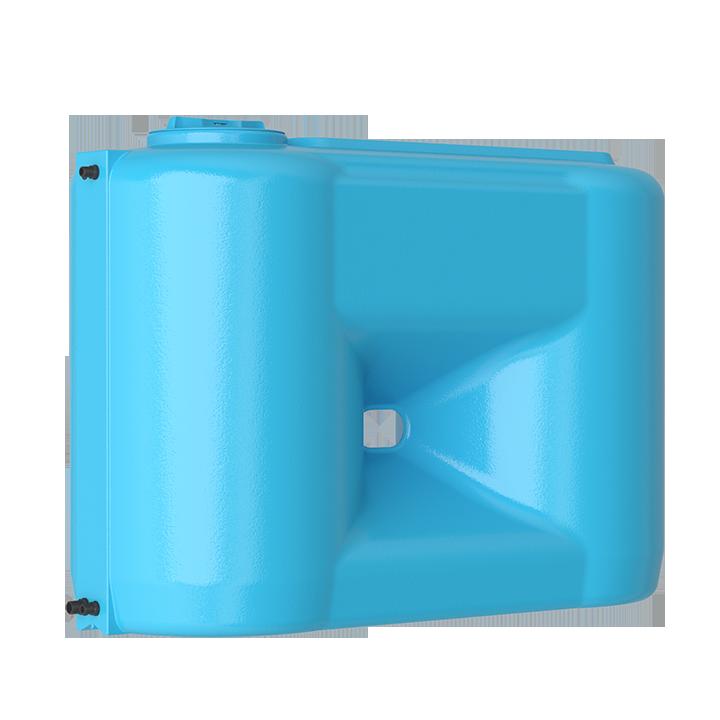 Бак для воды прямоугольный синий Combi 1100 BW с поплавком