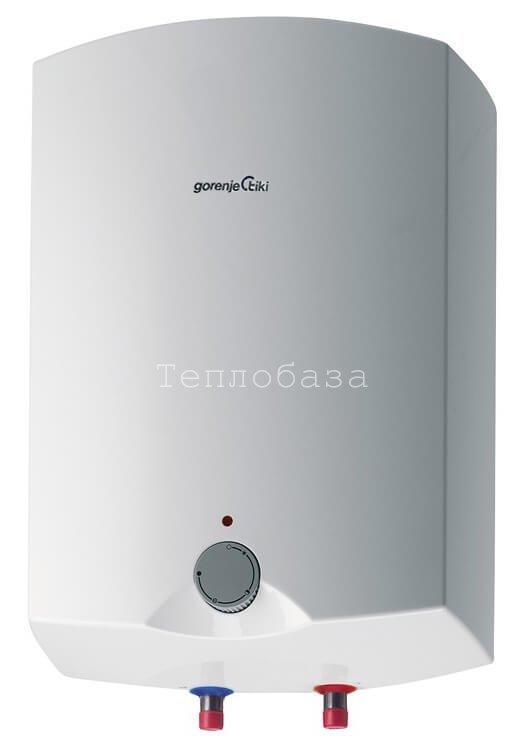 Водонагреватель вертикальный прямоугольный Gorenje 15л. GT15O/V6 - фото