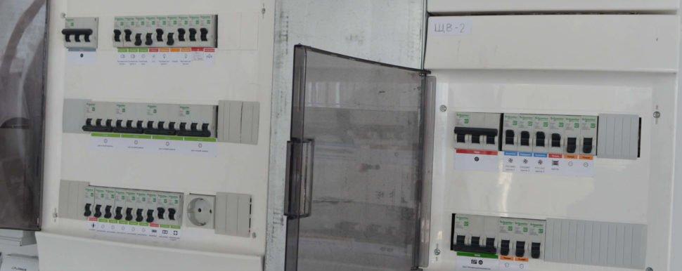 распределительный щит на электричество