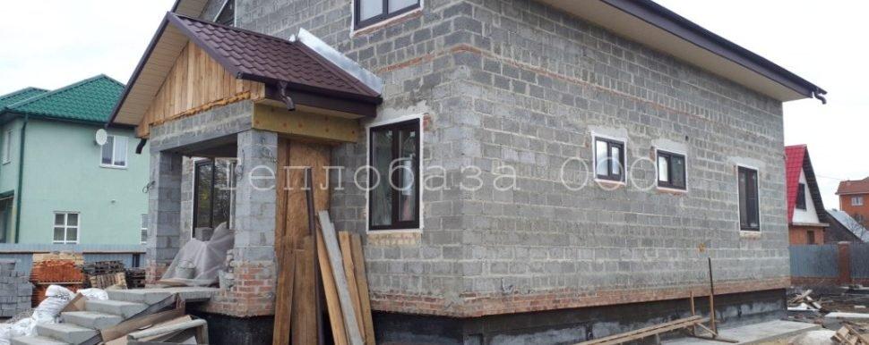 дом из керамзитоблока