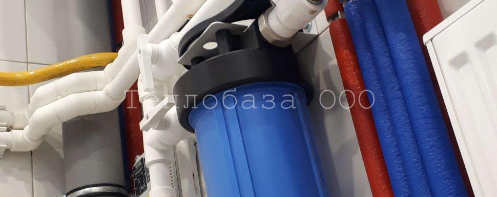 магистральный фильтр в котельной на водоснабжении