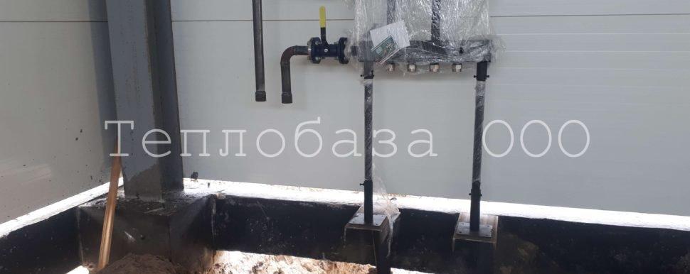монтаж отопления в антипино коллектор север