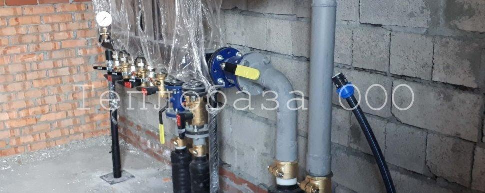 монтаж отопления в антипино, подключение к гидрострелке