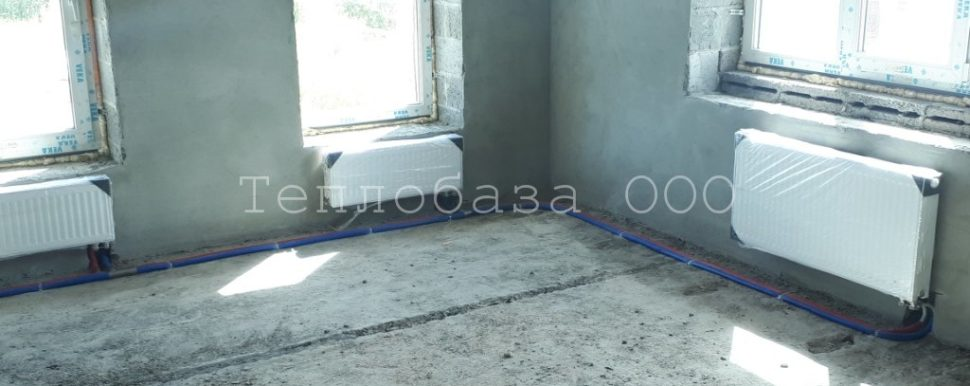 стальные панельные радиаторы с нижним подключением