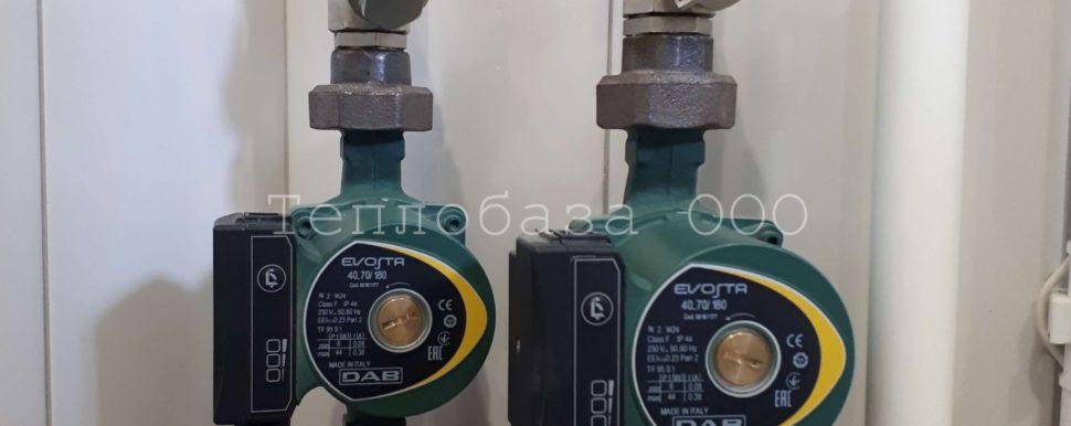 циркуляционные насосы DAB для отопления
