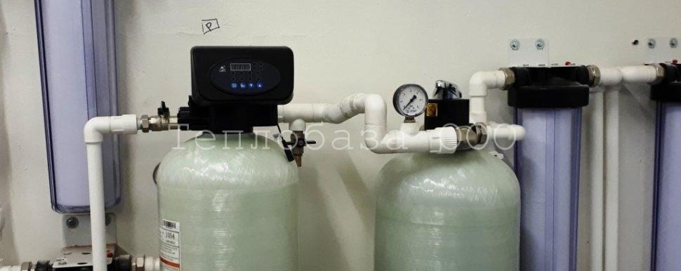 водоподготовка с фильтрующей засыпкой