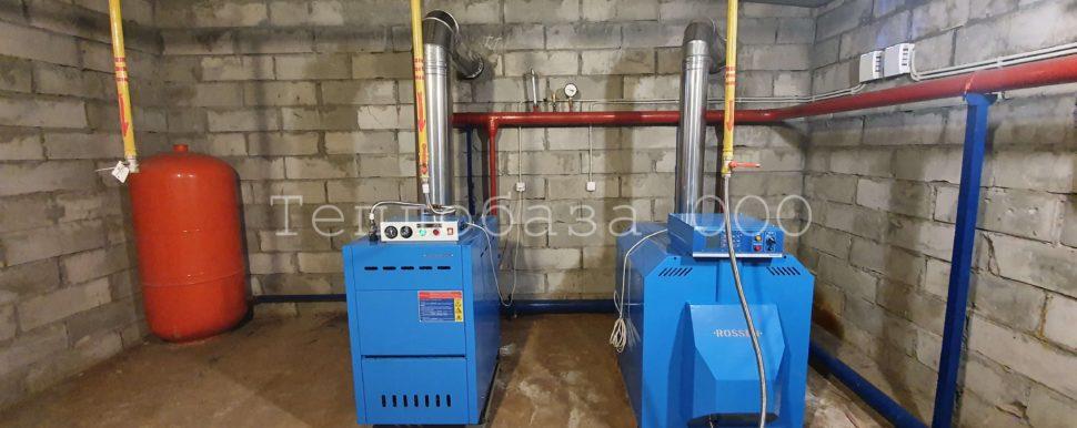 газовое отопление в отдельном здании