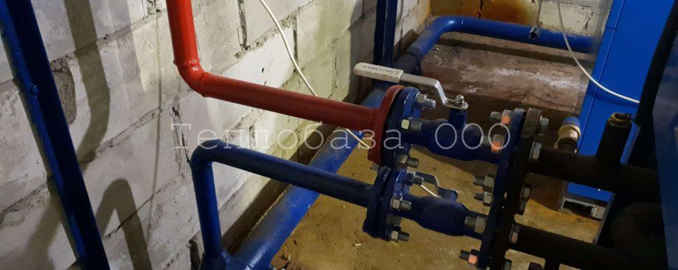 монтаж стальных труб на отопление
