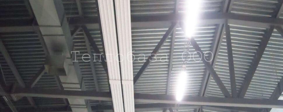 инфракрасные панели на потолке
