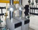 наполный газовый котел с регулятором тяги