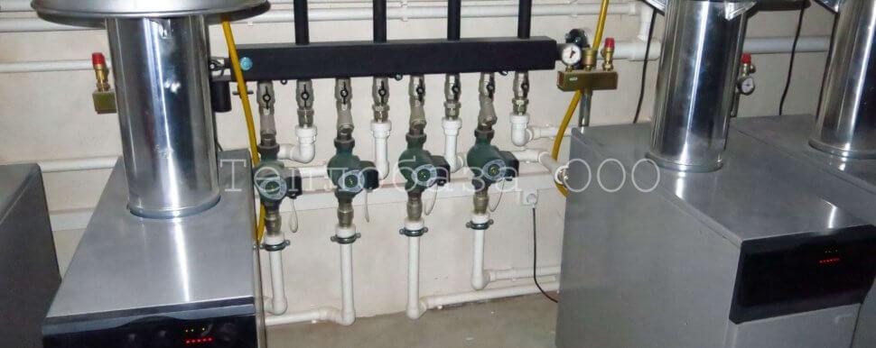 отопление газовыми котлами