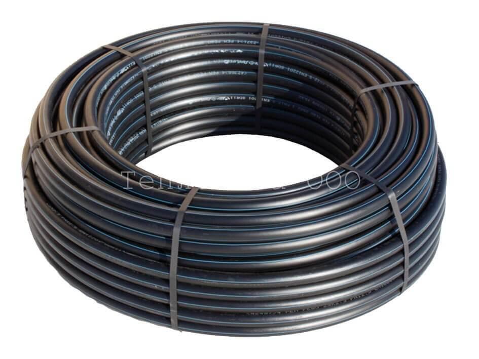 Труба ПНД напорная с разметкой 20х2 SDR17 (бухта 200м)