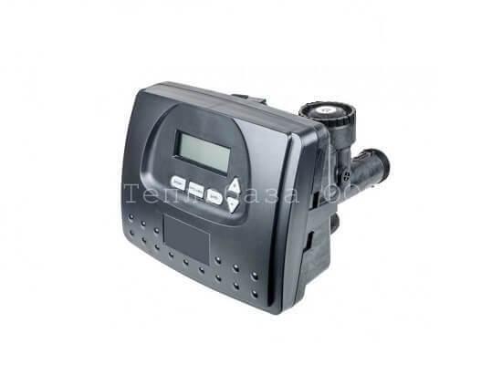 Клапан управления CLACK V1RRDME-D03. Автоматическое управленияе, реагентный, по времени/расходу, 5 кнопок, RR