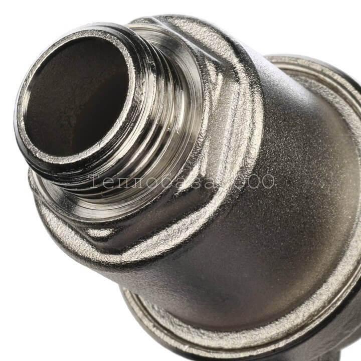 Воздухоотводчик автоматический 1/2 STOUT отвод воздуха вбок