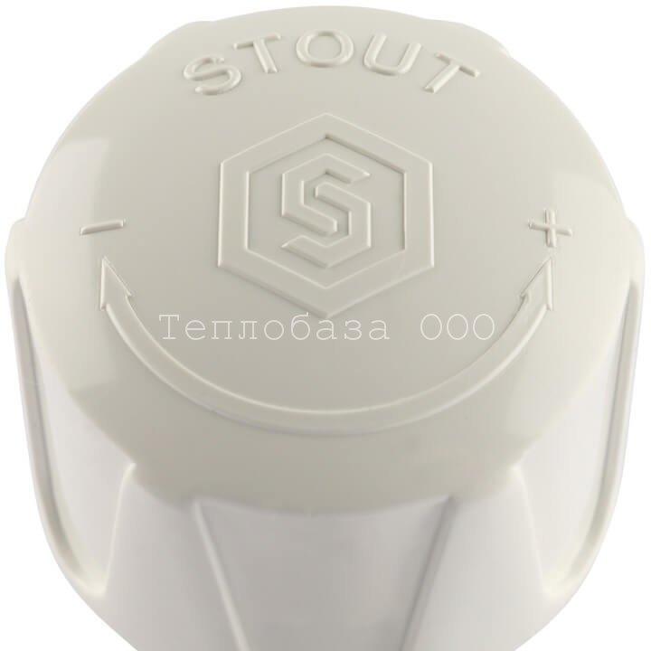 Вентиль регулировочный прямой 3/4 STOUT