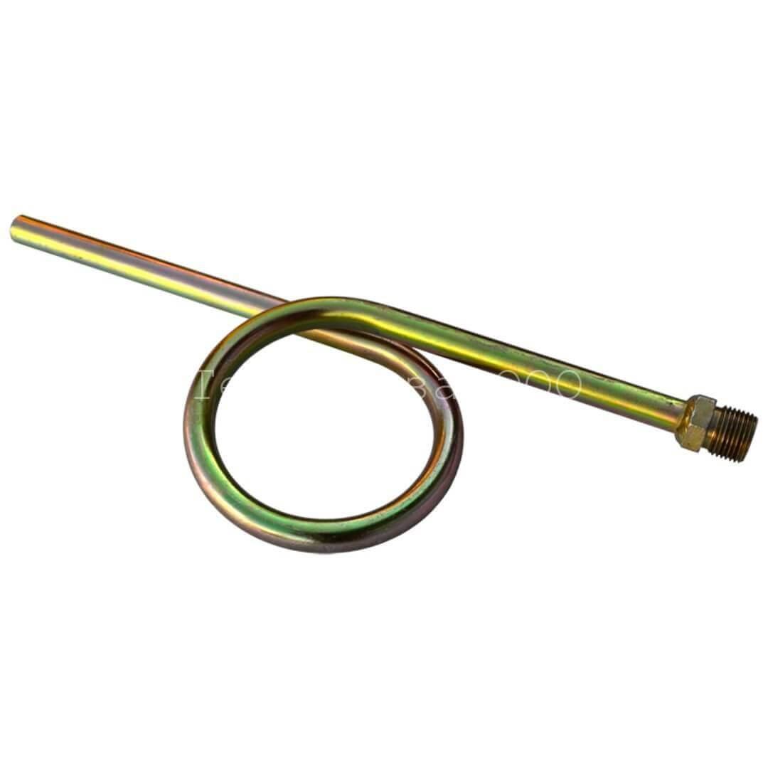 Трубка петлевая прямая УО 11 (под приварку/нар.G1/2), ст.20, без покрытия