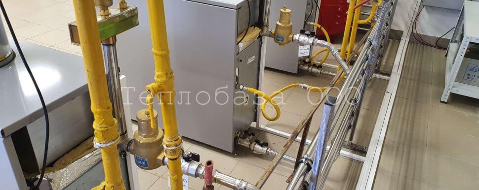 обвязка газовых котлов