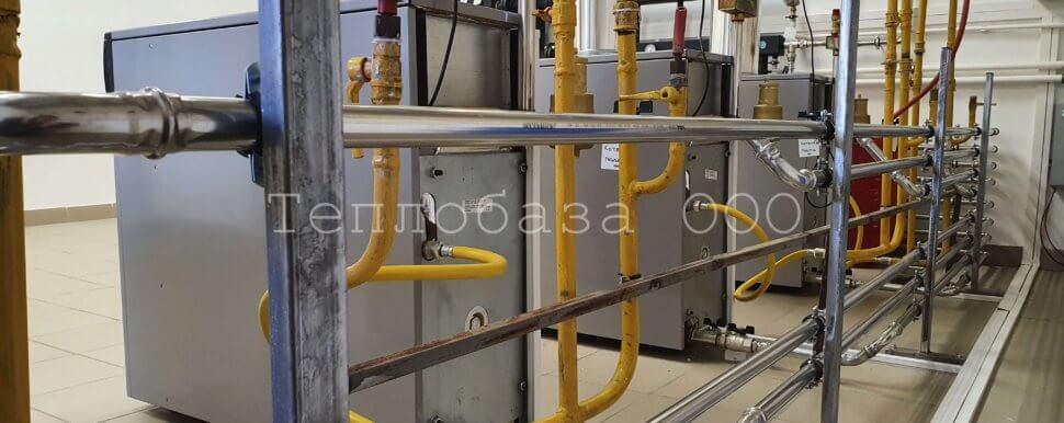 обвязка напольного газового котла