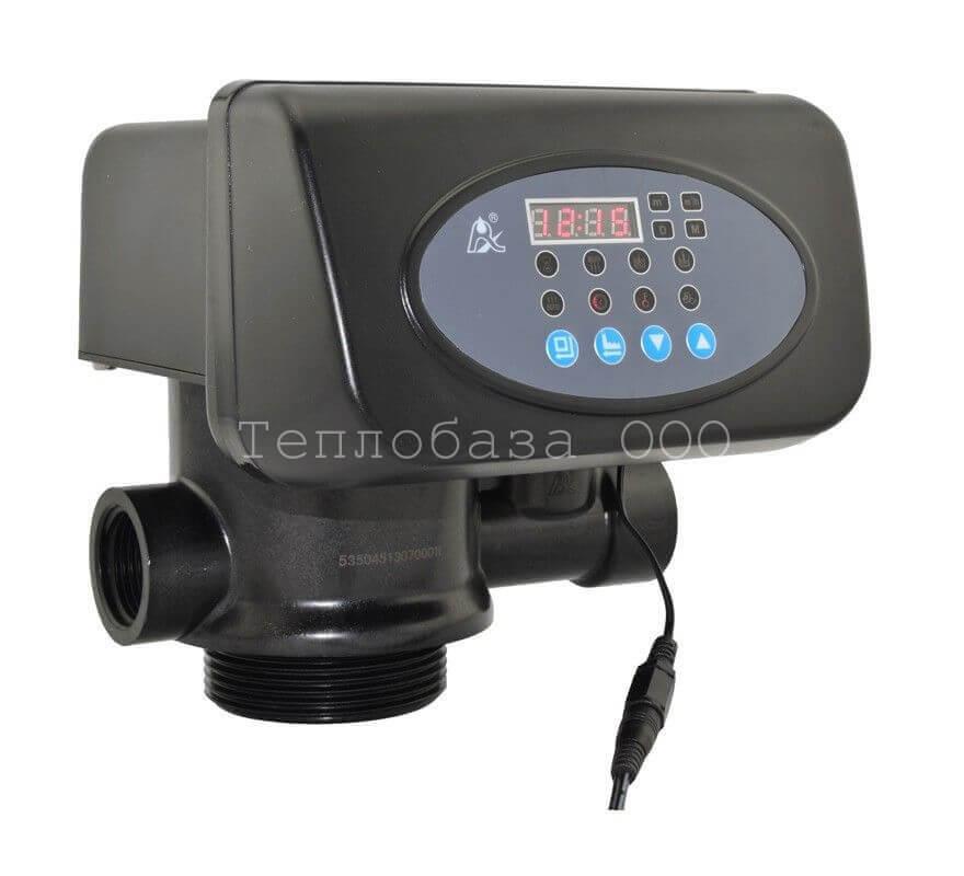 """Клапан F63P3, (автомат на умягчение по расходу, макс.поток 4,5м3/ч) 1"""" RUNXIN"""
