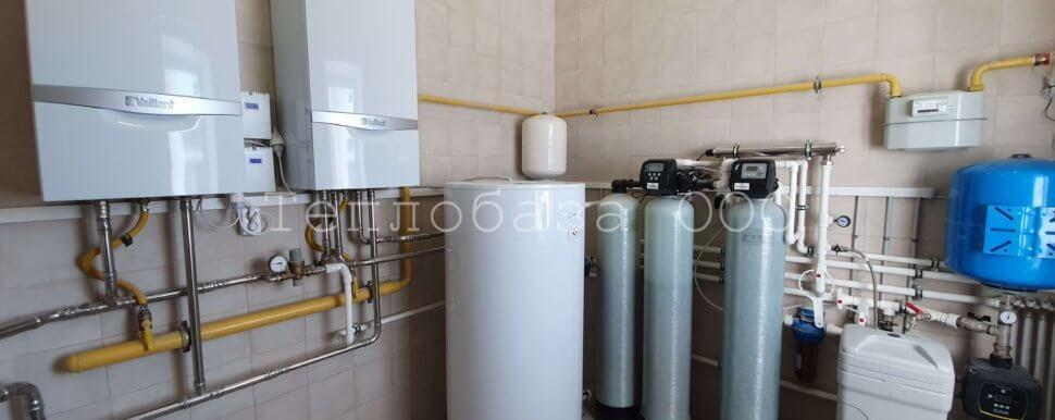 комплексный монтаж котельной и системы отопления в частном доме